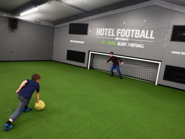 Hotel Football And Cafe Football In Manchester