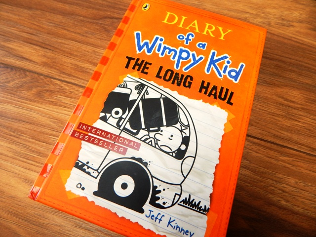 The Long Haul (Diary of a Wimpy Kid book 9) By Jeff Kinney