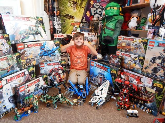 LEGO Ninjago Movie Toy Range