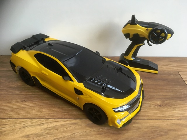 Bumblebee Car Games Play