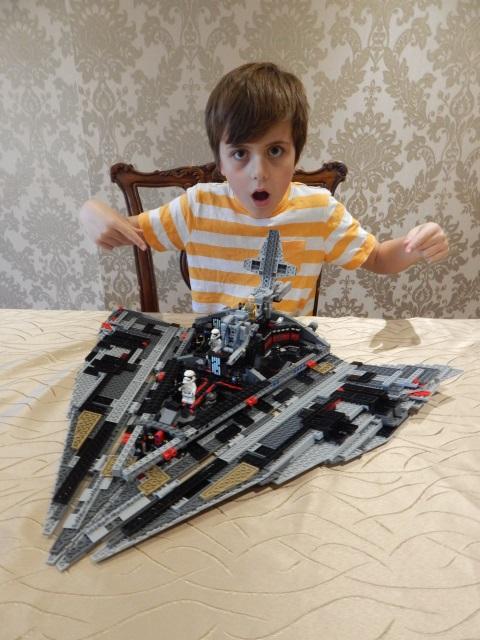 Lego Star Wars The Last Jedi First Order Star Destroyer