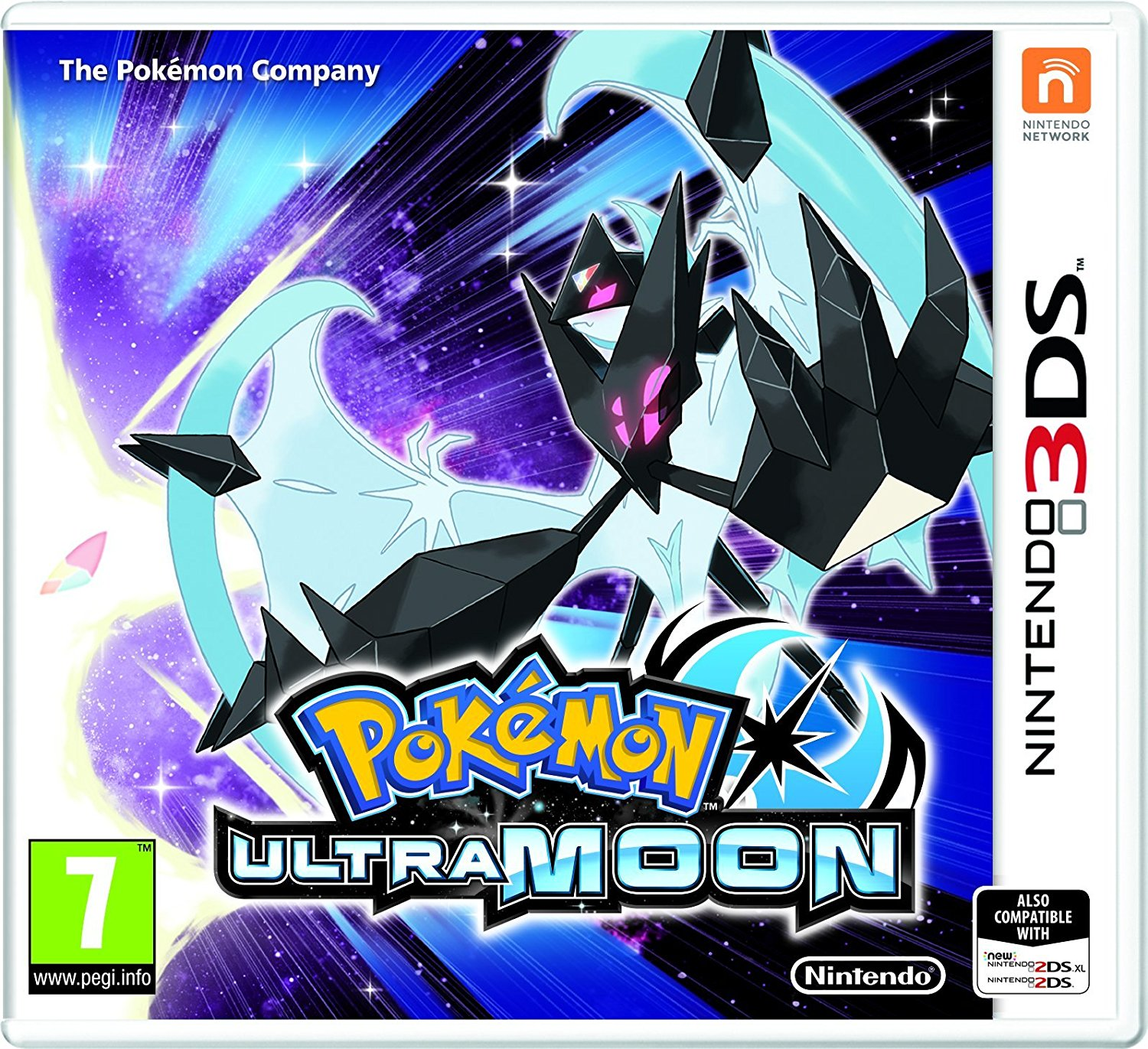 Nintendo 2DS & 3DS Pokemon Ultra Sun & Ultra Moon