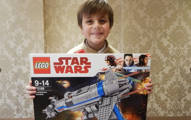 LEGO Star Wars The Last JEDI – Resistance Bomber (1)