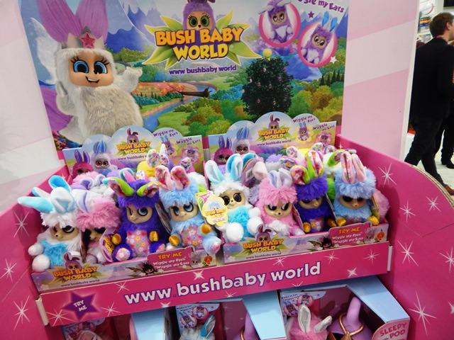 Toy Fair 2018 New Bush Baby World