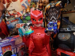 PJ Masks Villain Figures and Vehicles 1