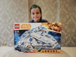 LEGO Solo A Star Wars Story - Kessel Run Millennium Falcon 1