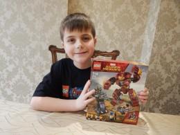 LEGO Avengers Infinity War Hulkbuster 1