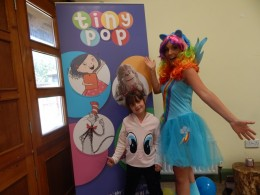 Tiny Pop - Bex at the My Little Pony School of Friendship 1