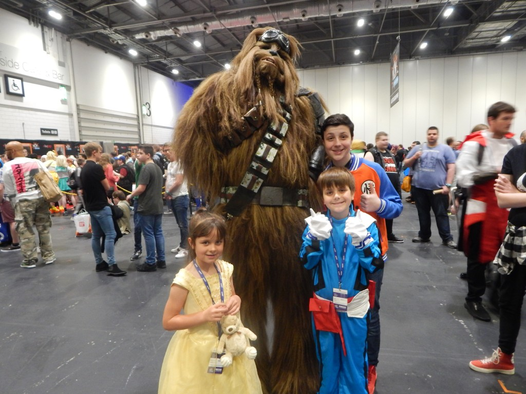 MCM London Comic Con May 25th 27th May 2018 With Harrison