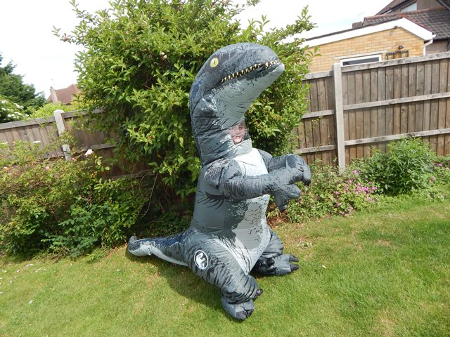 Adult Tyrannosaurus ... & Rubies Costumes u2013 Jurassic World Fallen Kingdom Inflatable Costumes