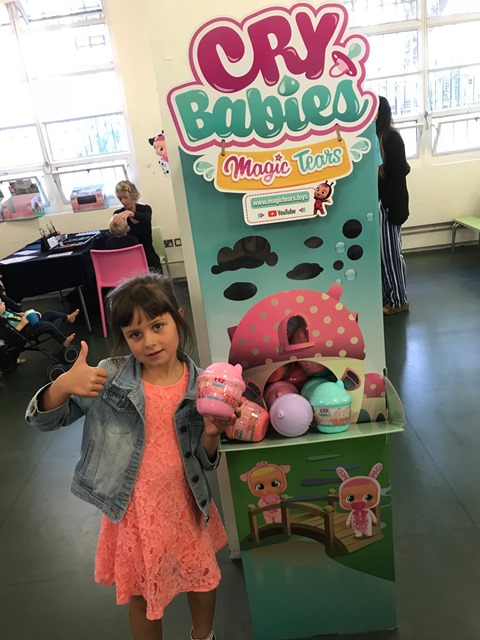 Bex At The Cry Babies Magic Tears Toy Launch Event