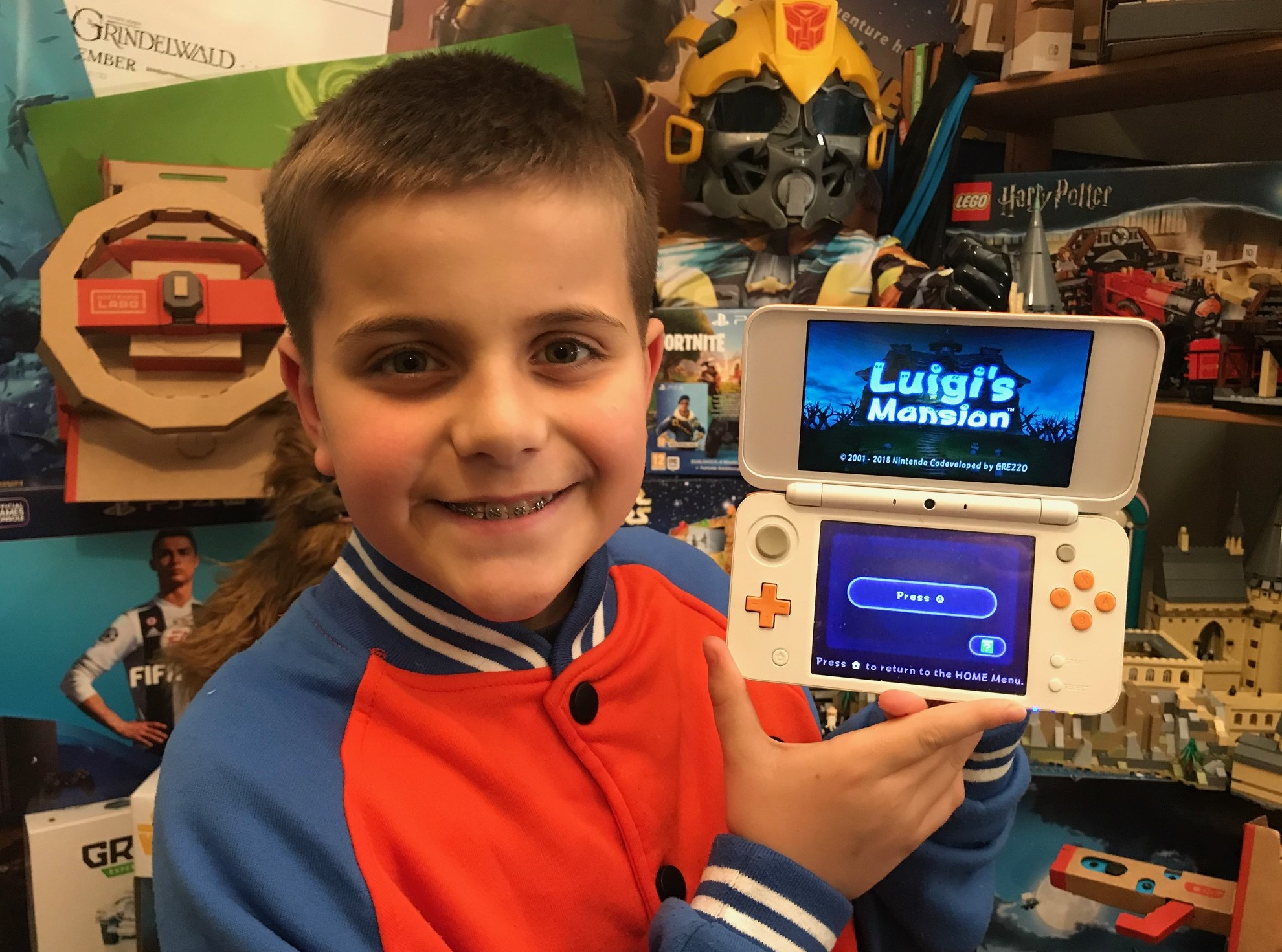 Nintendo 2DS & 3DS – Luigi's Mansion