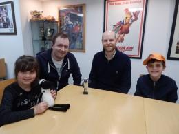 Aardman Set Visit 2019 (17)