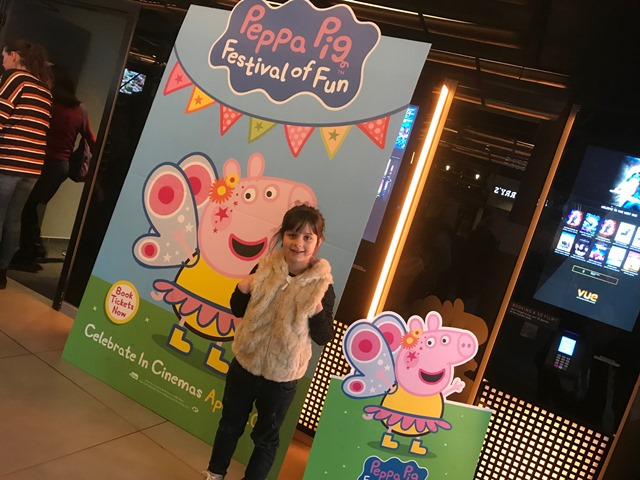 Peppa Pig Festival Of Fun Bex At The London Premiere