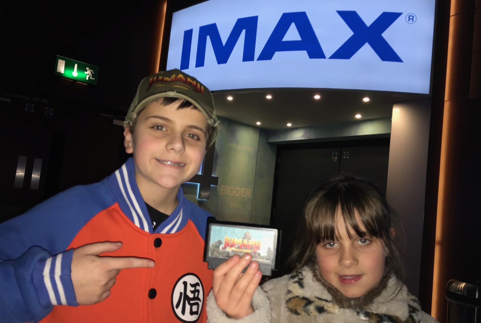 IMAX – Jumanji...