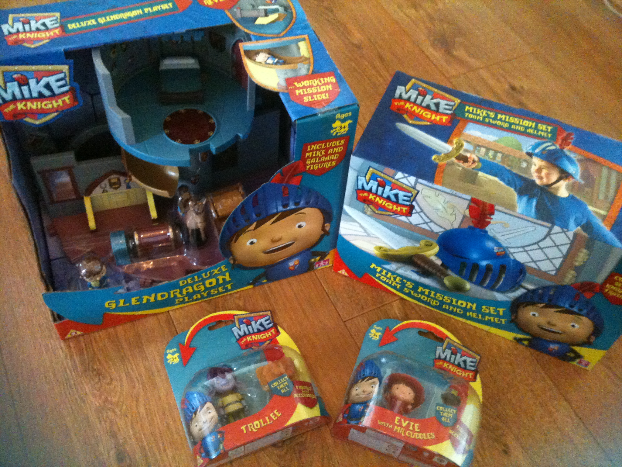 Mike The Knight Toy Range