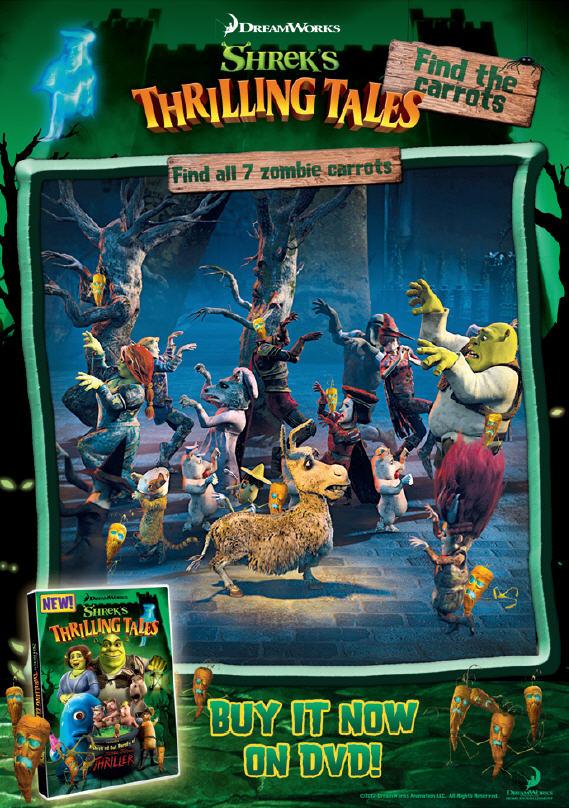 Fun  Kidz new with Halloween adventure 'Shrek's for
